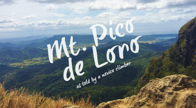 Tales from the Trail: Mt. Pico de Loro as Told by a Novice Climber